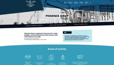 phoenix-grup.ro Phoenix Grup Re-design and SEO